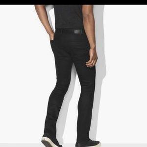 John Varvatos Heavy Velvet like new Pants Black